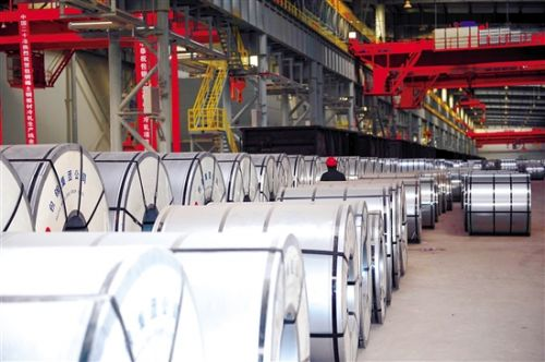 Baogang Group to produce automobile steel sheets