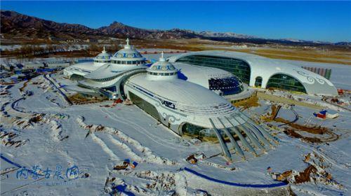 内蒙古自治区成立70周年大庆主会场正在加紧施工