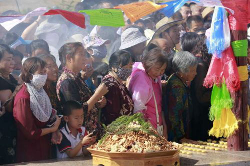 Baotou hosts traditional Mongolian ceremony2