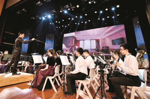 Ningbo symphony orchestra performs in Baotou