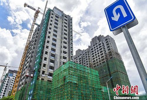 最新统计显示,2017年上半年中国房地产交易额持续增长,二三线城市吸引力凸显。 图为资料图 <a target='_blank' href='http://www.chinanews.com/'>中新社</a>记者 骆云飞 摄