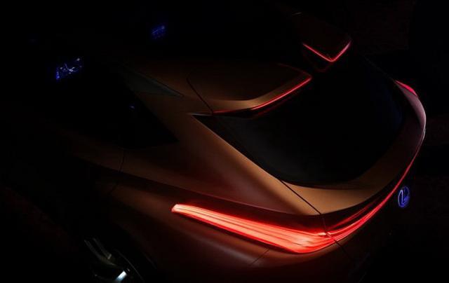 雷克萨斯新跨界SUV预告图 北美车展全球首发