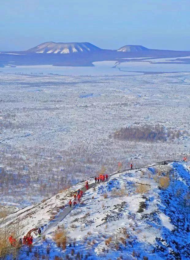 五大连池风景区,国家AAAAA级景区,中国著名火山之乡.