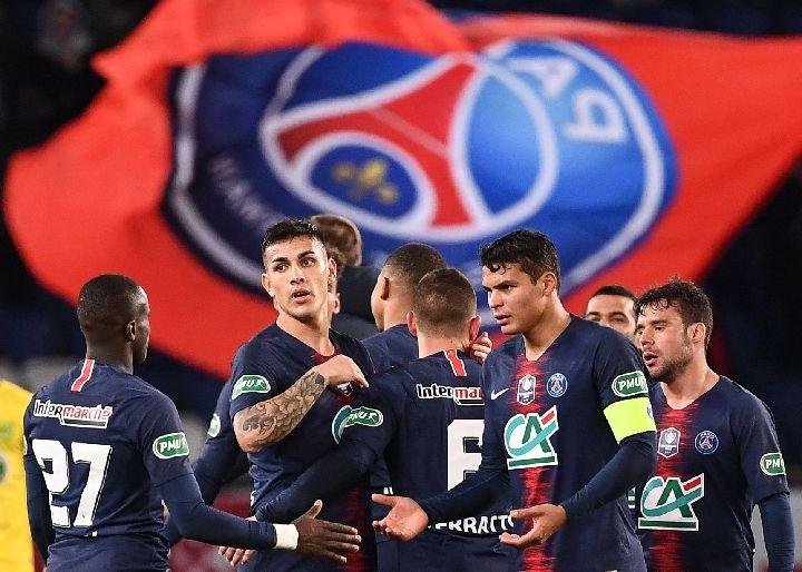 大巴黎距离法国杯卫冕一步之遥
