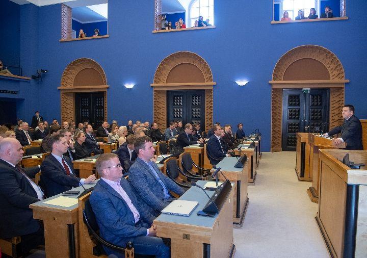 拉塔斯获议会授权组建爱沙尼亚新