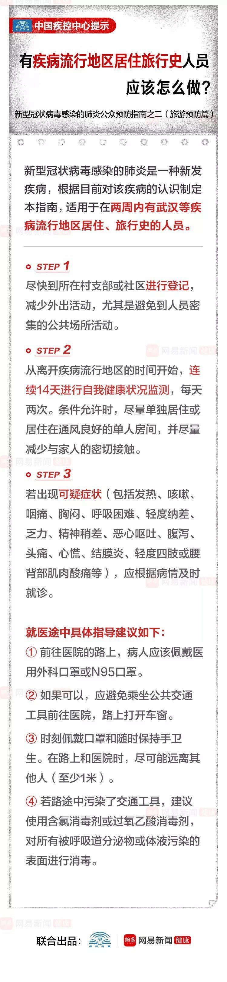 中国疾控中心提示:有疾病流行地